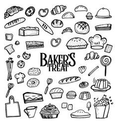 Bakers treat vector