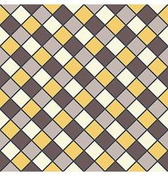Golden brown mosaic background vector