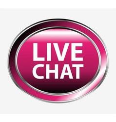 Live chatbutton vector