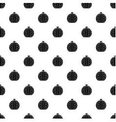Lophophora cactus pattern vector