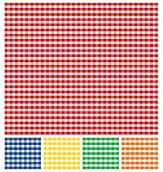 Picnic Tablecloth Texture vector