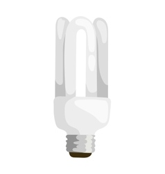 Power save lamp vector image