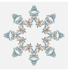 Circular patterns and ornaments oriental vector image vector image