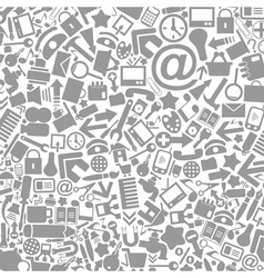 Office a background vector image vector image