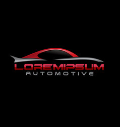 Automotive logo vector