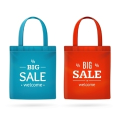 Color Sale Bag Labels Set vector