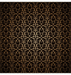 Dark gold pattern vector