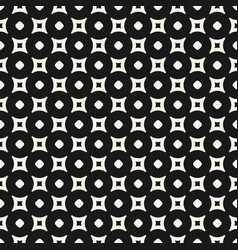 Geometric pattern circles and outline rounded squa vector