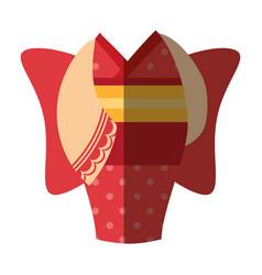 japanese kimono dress icon vector image
