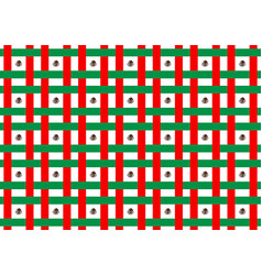 Mexico flag abstract seamless pattern vector