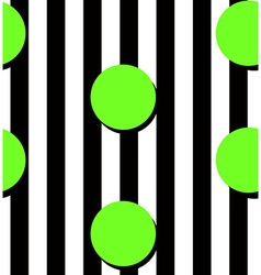 Modern stripes and circles pattern vector