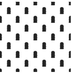 Plant of desert pattern vector