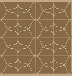 Seamless geometric pattern with belts ropes and vector