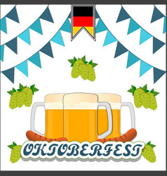The holiday oktoberfest vector
