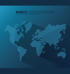 World modern background vector