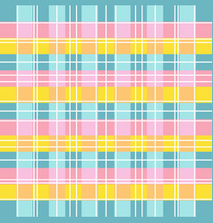 basic rgbcolorful alternating grid pattern vector image
