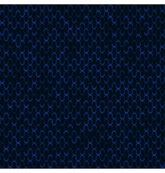 Blue technology background perforated vector image