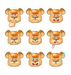 Faces-bear-03 vector