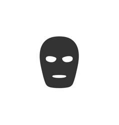 mask icon flat vector image