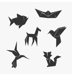 Origami Symbol vector