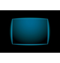 Blue glow background vector image vector image