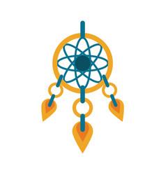 dreamcatcher hanging icon image vector image