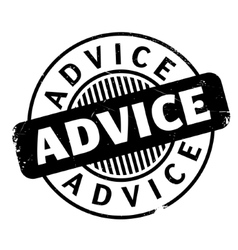 Advice rubber stamp vector