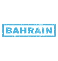 Bahrain Rubber Stamp vector image