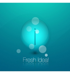 bubble background vector image