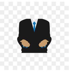 Business man body graphic design vector