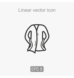 Liner icon vector