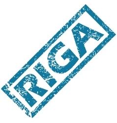 Riga rubber stamp vector