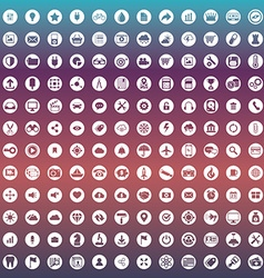set icons for web and user interface design vector image