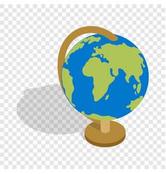 globe isometric icon vector image vector image