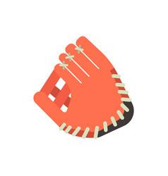 baseball glove design elements game equipment vector image vector image