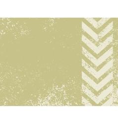 grungy worn hazard stripes vector image