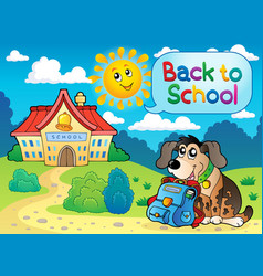 Back to school thematic image 5 vector