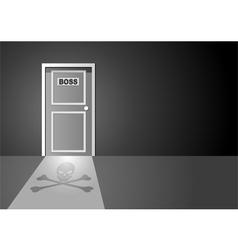 Boss Door vector image
