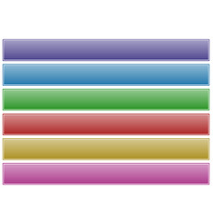Button banner backgrounds in several colors on vector