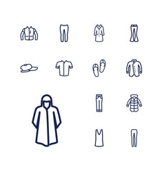 Casual icons vector