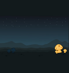 Game background desert scenery collection vector