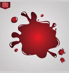 paint splattersset of paint splashes vector image