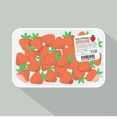 Strawberry Pack vector image