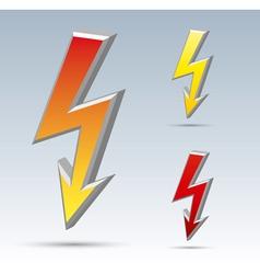Flash arrow vector image