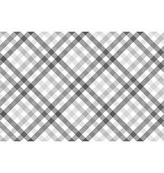 Gray diagonal check seamless pattern vector