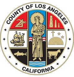Los Angeles County Seal vector