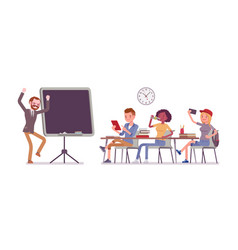 School bad behaviour vector