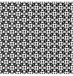 Seamless pattern monochrome geometric ornament vector