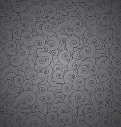 Seamless Swirls Texture vector image vector image