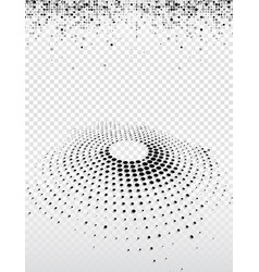 abstract business background of black dots vector image
